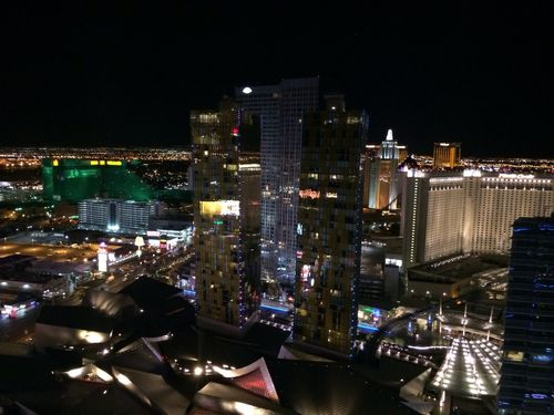 View from Cosmopolitan