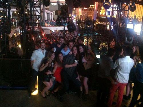 At Ellie Goulding in Vegas